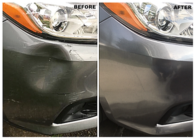 body repair before & after