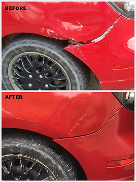 body works before & after