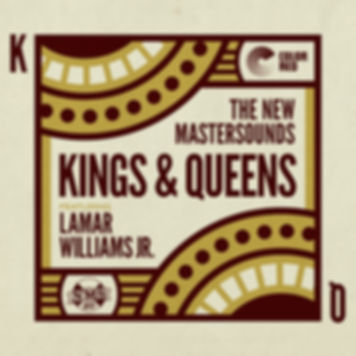 The New Mastersounds - Kings & Queens -Color Red Music