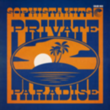 Sophistakits - Private Paradise - Color Red Music - Artwork by Mike Tallman