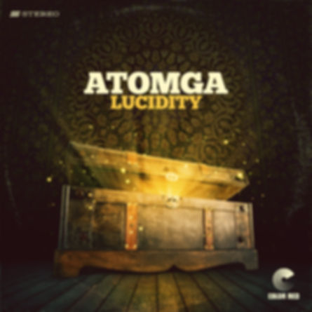 Atomga - Lucidity - Color Red Music - Artwork by Mike Tallman