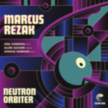 Marcus Rezak   Neutron Orbiter   Color Red Music   Artwork by Mike Tallman