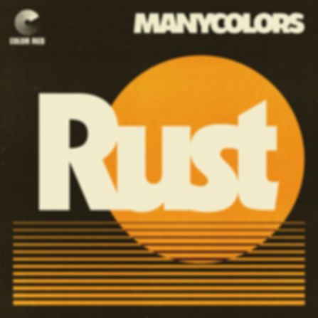 Manycolors - Rust - Color Red Music - Atwork by Mike Tallman