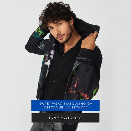 Inverno 2020 - Outerwear masculino em destaque na estação