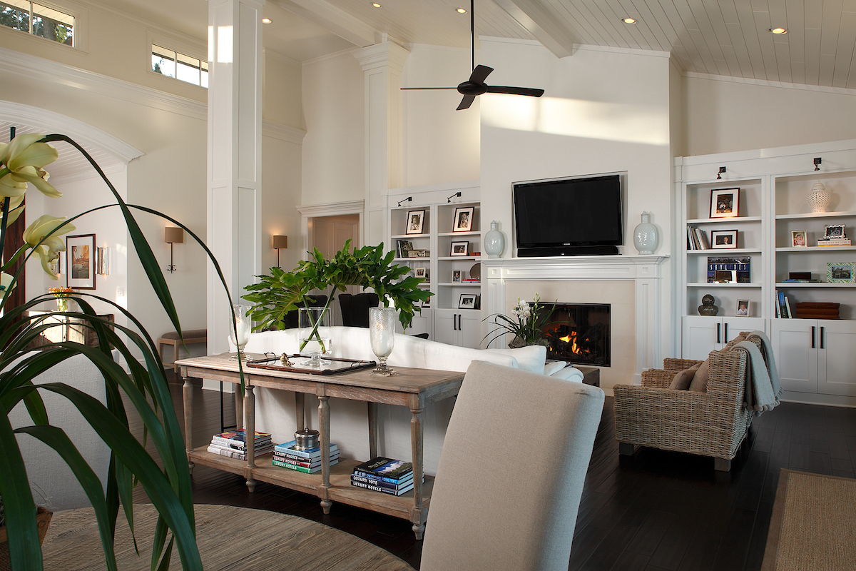 Living room and open concept