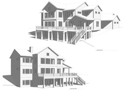Exterior Elevation - Custom Home