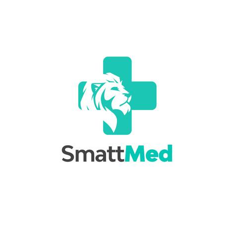 SmattMed Logo Design