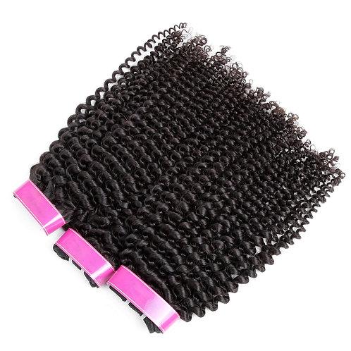 AngelHands 4A/4B 3-Bundle Kinky Curly Brazilian Virgin Human Hair