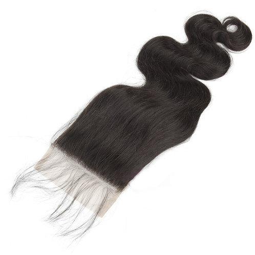 AngelHands Brazilian Body Wave Lace Closure 5x5 Virgin Human Hair
