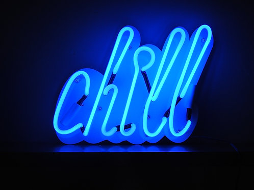 Neon Light Chill Wall Lamp