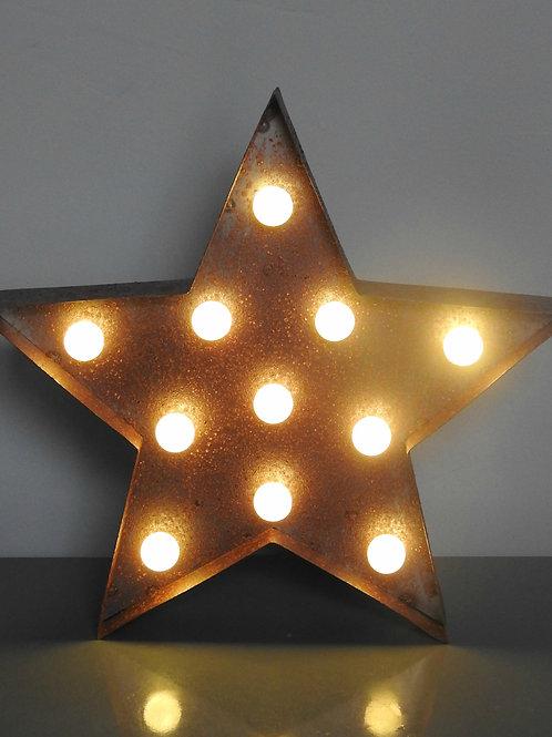 Rustic Circus LED Star