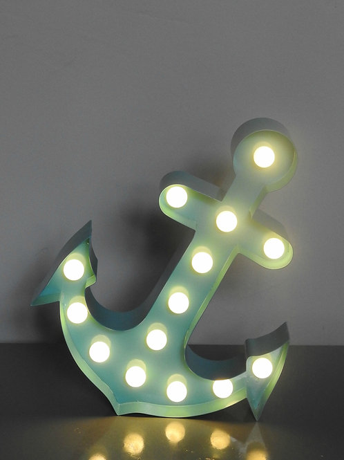 Circus LED Lights Anchor Blue
