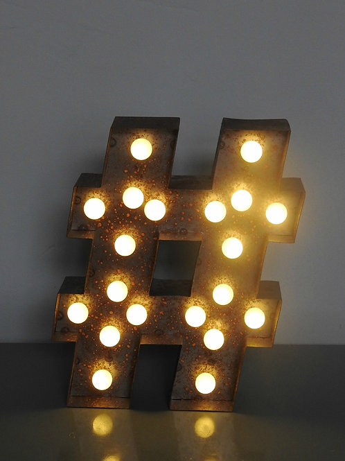 Rustic Circus LED Lights #