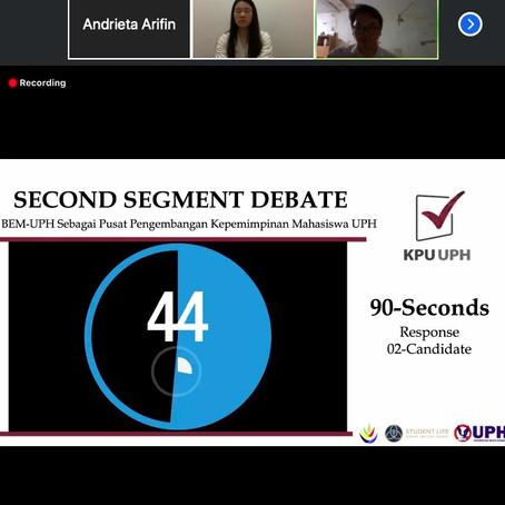 Kuliah Online, Debat Calon Ketua BEM 2020/2021 Tetap Berlanjut