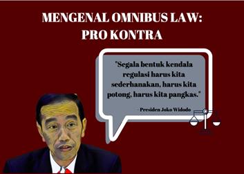 Mengenal Omnibus Law: Pro dan Kontra