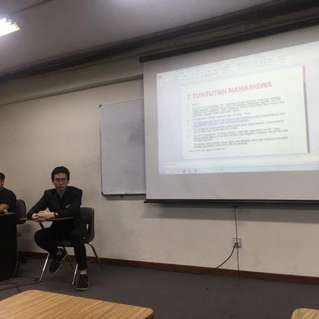 Konferensi Pers Mendadak Tengah Malam: Mahasiswa Menolak Pengesahan RKUHP