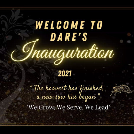 """Inaugurasi DARE 2021/2022: """"The harvest has finished, a new sow has begun"""""""