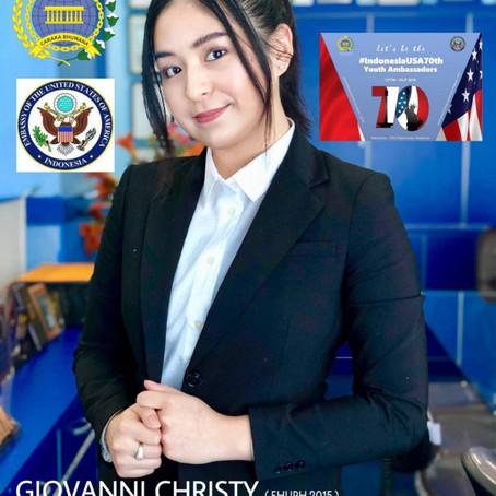 Giovanni Christy, Alumni FH UPH dan Seorang Pemuda untuk Dunia