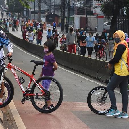 Wacana Anies: Sepeda Masuk Tol