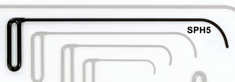 SPH5 - Side Panel Hook 3″ Curve Flag