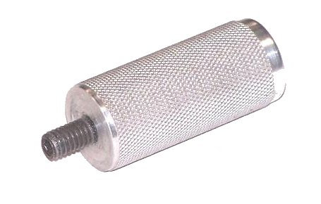 """A98 - Knurled Aluminum Handle Extension 2 1/4"""""""