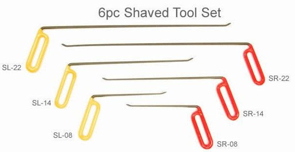 STT6 - 6pc Shaved Tool Set
