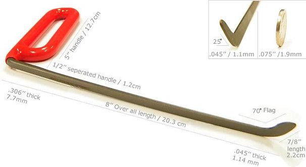 SR08 - DENTCRAFT 8'' Shaved Tool Right
