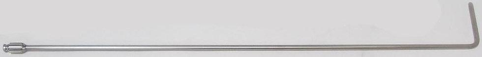 "5613A - 5/16"" Diameter, 30"" Standard Twist 90° 3"" Blade"