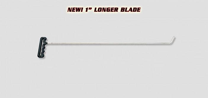 "SHT2B - 24 "" SHAVED TWISTER 65° 1/8"" X 1/4"" SHAFT 2"" BLADE"