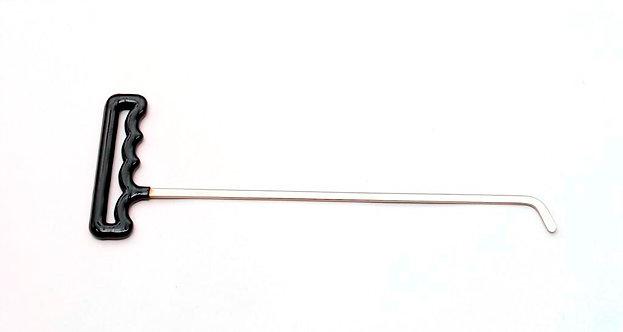 "SHT1 -12"" Shaved Twister 45° 1/8"" x 1/4"" Shaft 1"" Blade"
