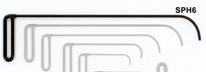 SPH6 - Side Panel Hook 3 1/2″ Curve Flag