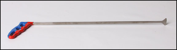 "FIN118 18"" Long Whale Tail with 1 1/8"" Wide Spade"