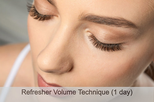1 Day Refresher Volume Technique