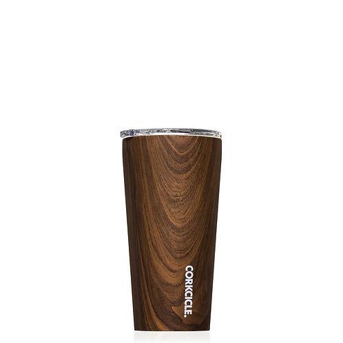 Corkcicle 16oz Walnut Wood Tumbler
