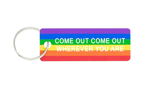 Come Out Keychain