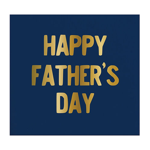 Happy Father's Day Napkins