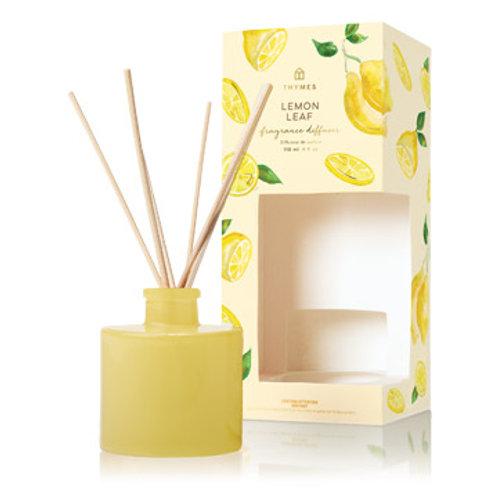 Thymes Lemon Leaf Petite Reed Diffuser
