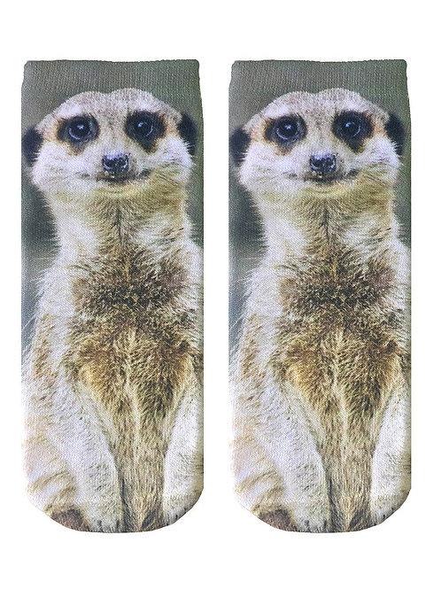 Living Royal Meerkat Ankle Socks