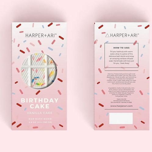Harper + Ari Happy Birthday! Bath Bomb Bar