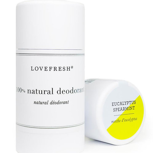 Love Fresh Eucalyptus Spearmint Natural Deodorant
