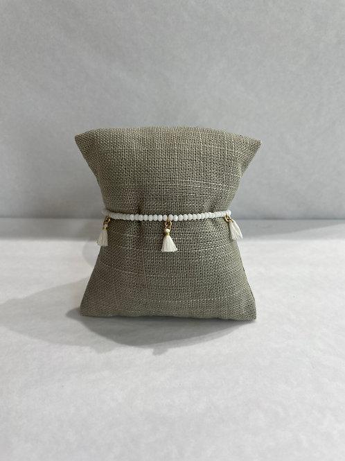 Jocelyn Kennedy Beaded Tassel Bracelet