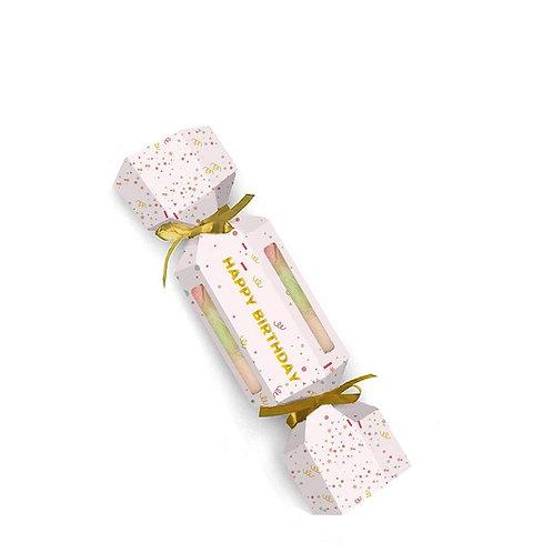Harper + Ari Happy Birthday Sugar Cube Cracker