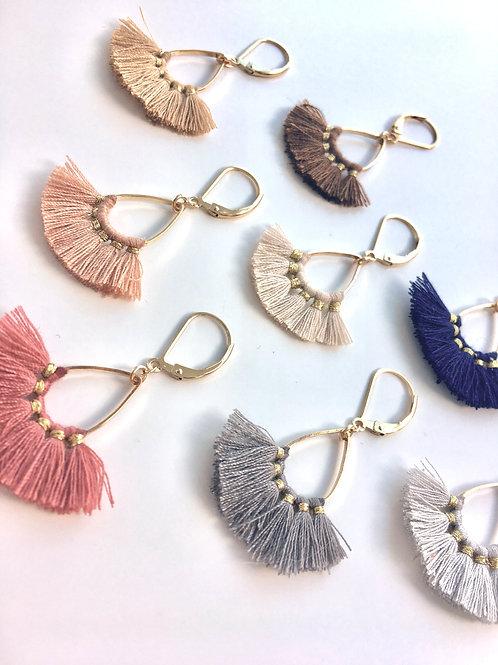 Jocelyn Kennedy Tassel Earrings