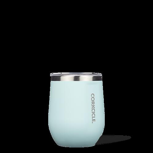 Corkcicle 12oz Stemless Gloss Powder Blue
