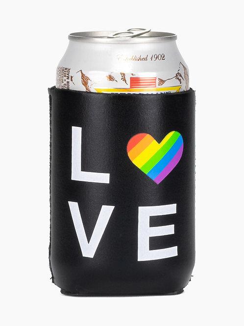 Love Pride Koozie
