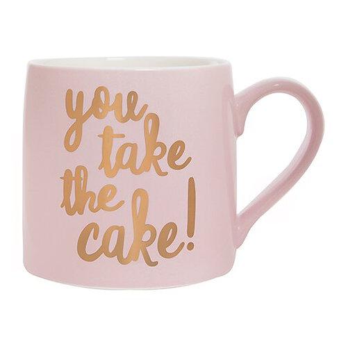 Jumbo Coffee Mug- You Take The Cake