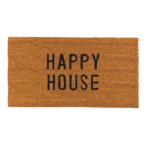Happy House Door Mat