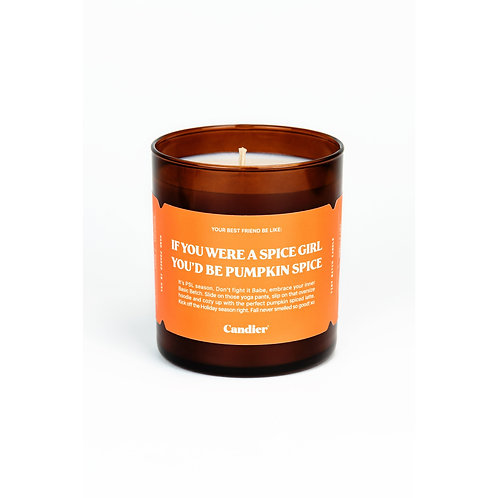 Candier Pumpkin Spice Candle