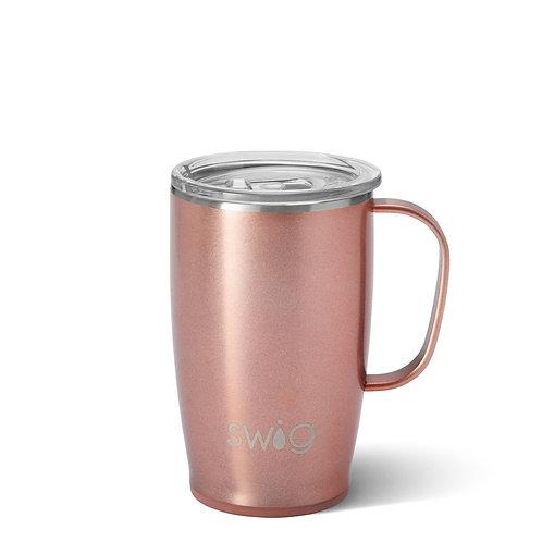 Swig Travel Mug Shimmer Rose Gold