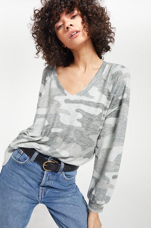 Z Supply Plira Camo Sweater